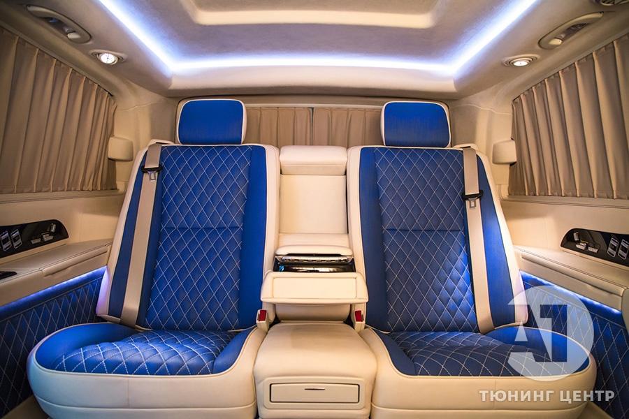 Cалон Mercedes Benz Viano VIP. Фото 4, А1 Авто.