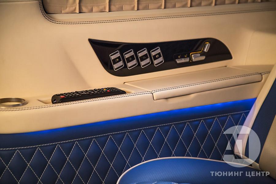 Cалон Mercedes Benz Viano VIP. Фото 7, А1 Авто.