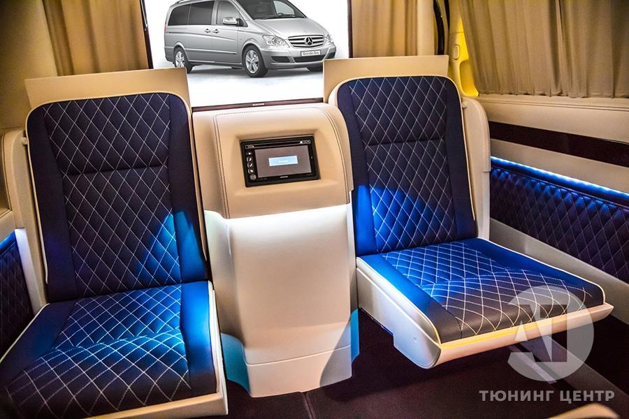 Cалон Mercedes Benz Viano VIP. Фото 11, А1 Авто.