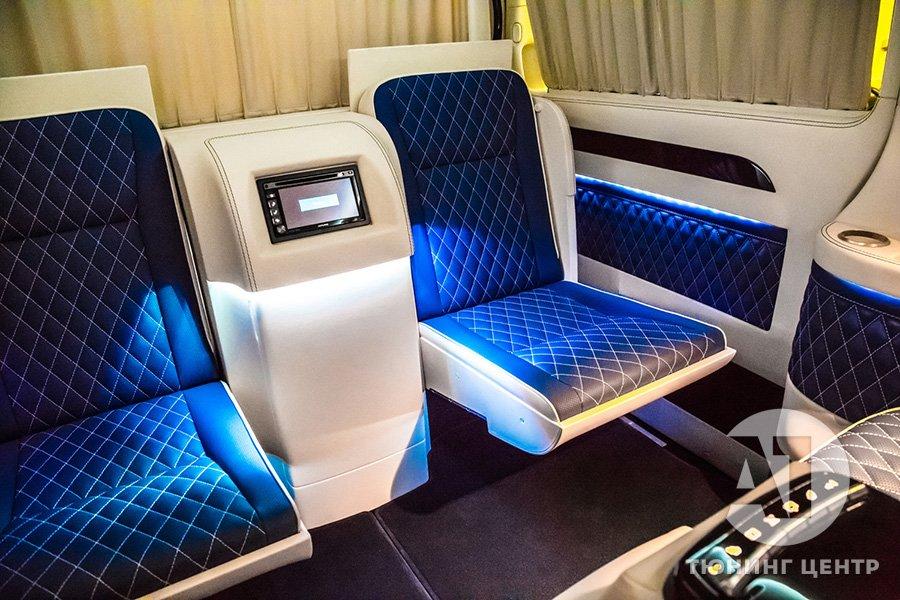 Cалон Mercedes Benz Viano VIP. Фото 13, А1 Авто.
