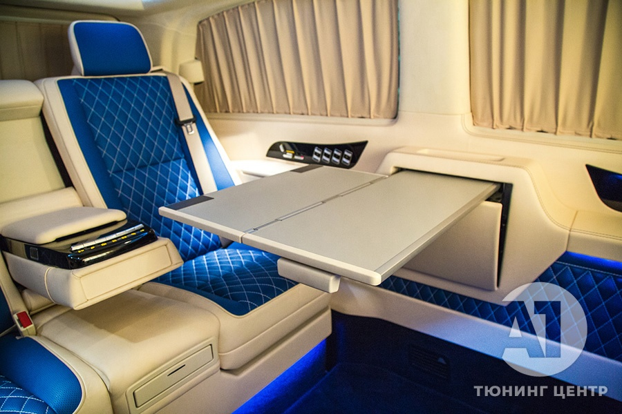 Тюнинг Mercedes Benz Viano VIP. Фото 7, А1 Авто