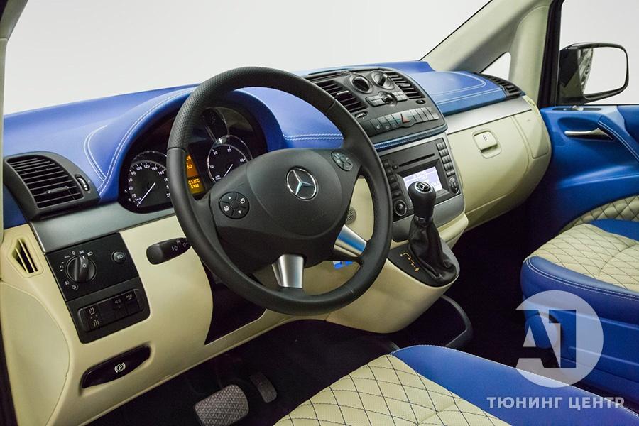 Тюнинг салона Mercedes Benz Viano VIP. Фото 13, A1 Auto