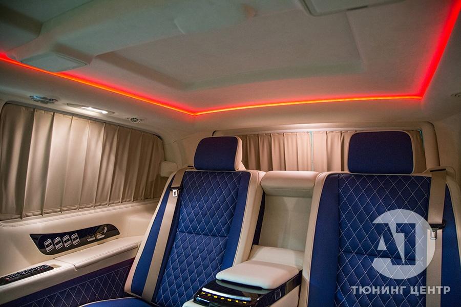 Тюнинг салона Mercedes Benz Viano VIP. Фото 18, А1 Авто