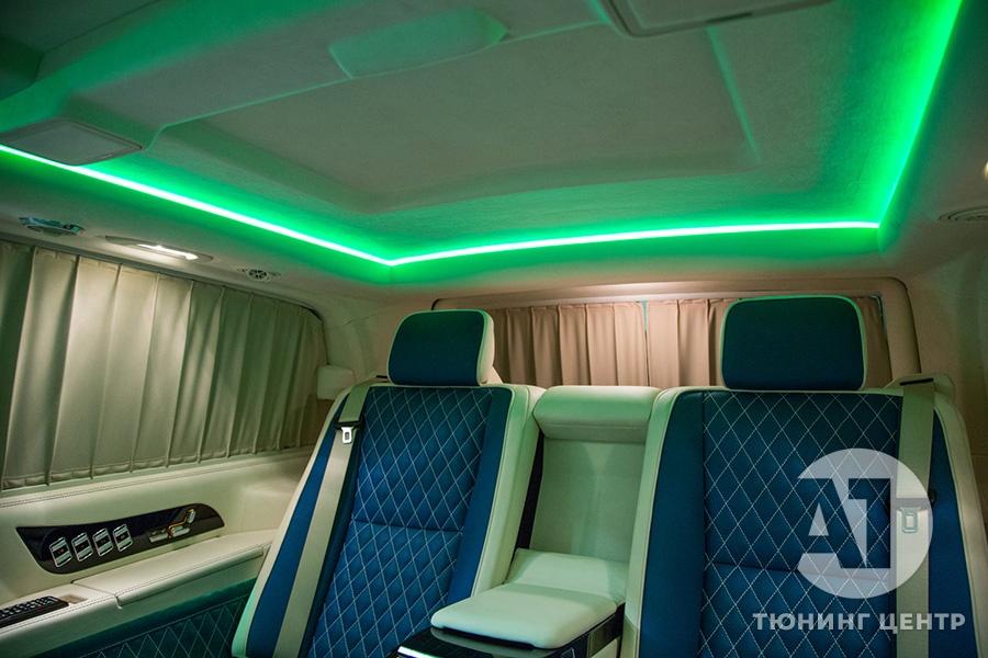 Тюнинг салона Mercedes Benz Viano VIP. Фото 19, А1 Авто