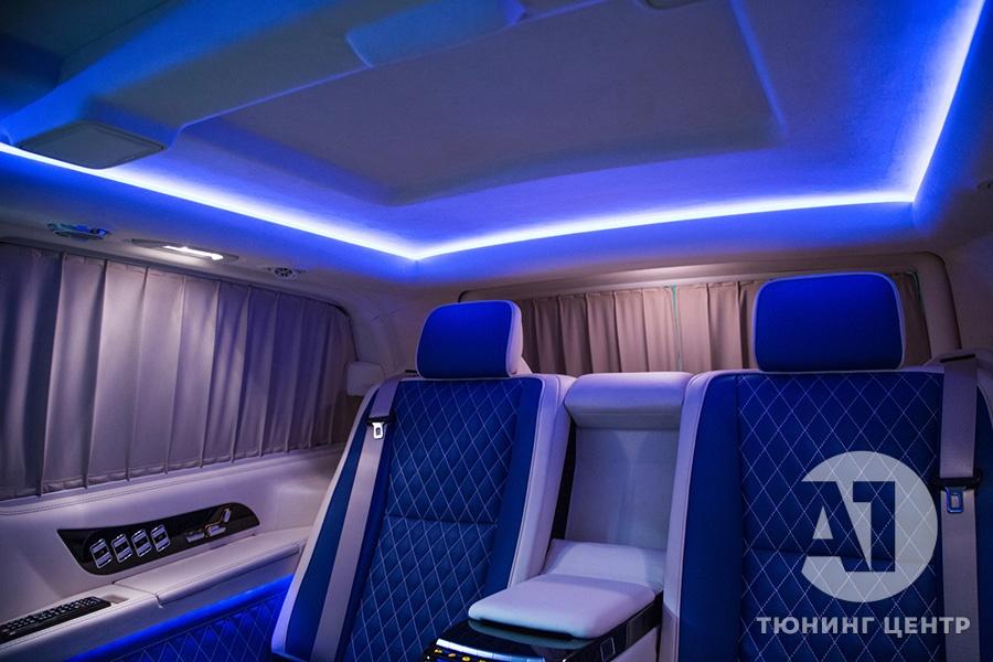 Тюнинг салона Mercedes Benz Viano VIP. Фото 20, А1 Авто