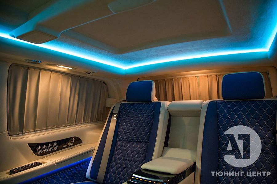 Тюнинг салона Mercedes Benz Viano VIP. Фото 23, А1 Авто