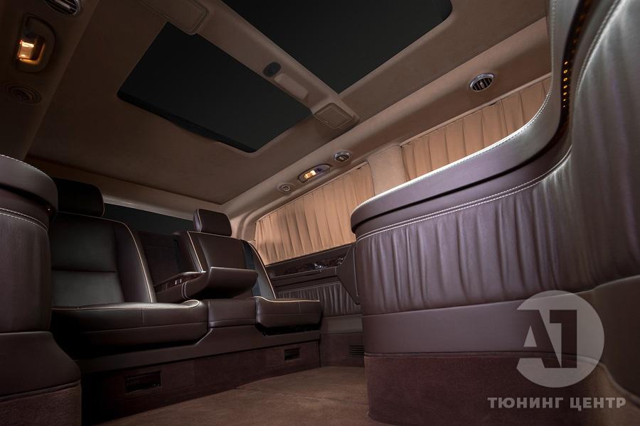 Cалон Mercedes Benz Viano VIP. Фото 14, А1 Авто.