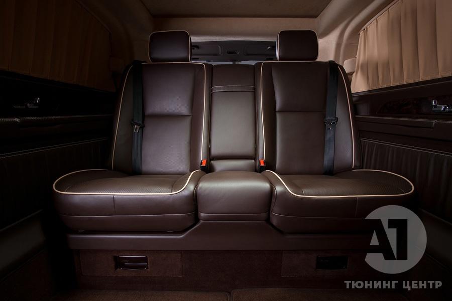 Cалон Mercedes Benz Viano VIP. Фото 17, А1 Авто.