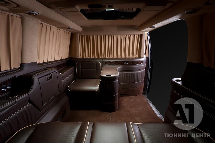 Cалон Mercedes Benz Viano VIP. Фото 24, А1 Авто.