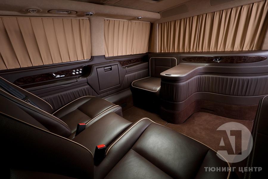 Cалон Mercedes Benz Viano VIP. Фото 25, А1 Авто.