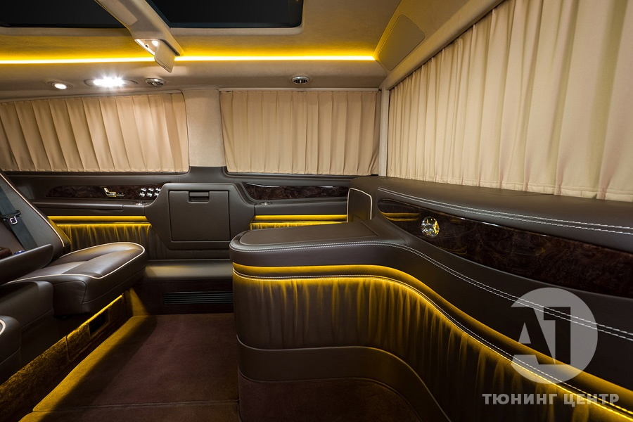 Cалон Mercedes Benz Viano VIP. Фото 27, А1 Авто.