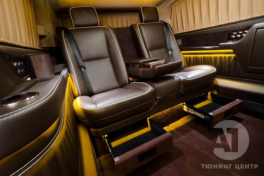 Cалон Mercedes Benz Viano VIP. Фото 28, А1 Авто.