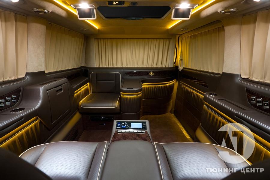 Cалон Mercedes Benz Viano VIP. Фото 22, А1 Авто.
