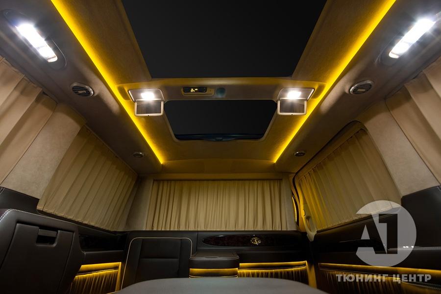 Cалон Mercedes Benz Viano VIP. Фото 21, А1 Авто.