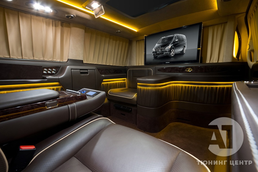 Тюнинг Mercedes Benz Viano VIP. Фото 3, А1 Авто