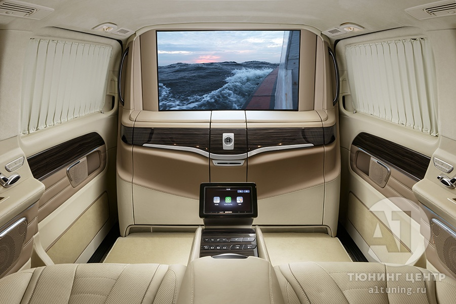 Тюнинг салона Mercedes Benz V-Class. Фото 2, A1 Auto