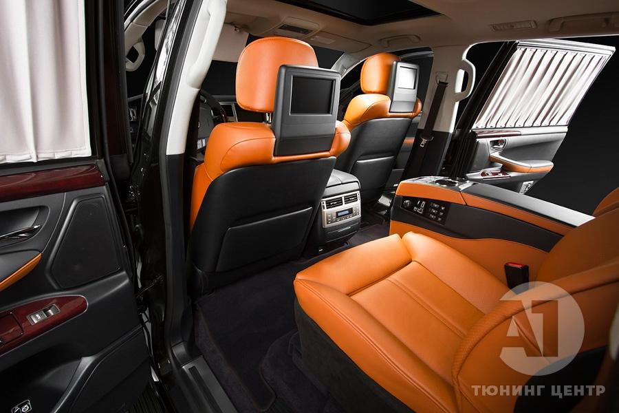 Тюнинг салона Lexus LX57. Фото 4, A1 Тюнинг Центр