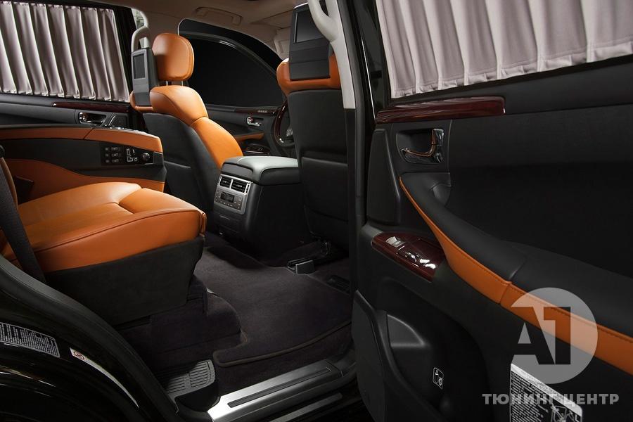 Тюнинг салона Lexus LX57. Фото 5, A1 Тюнинг Центр