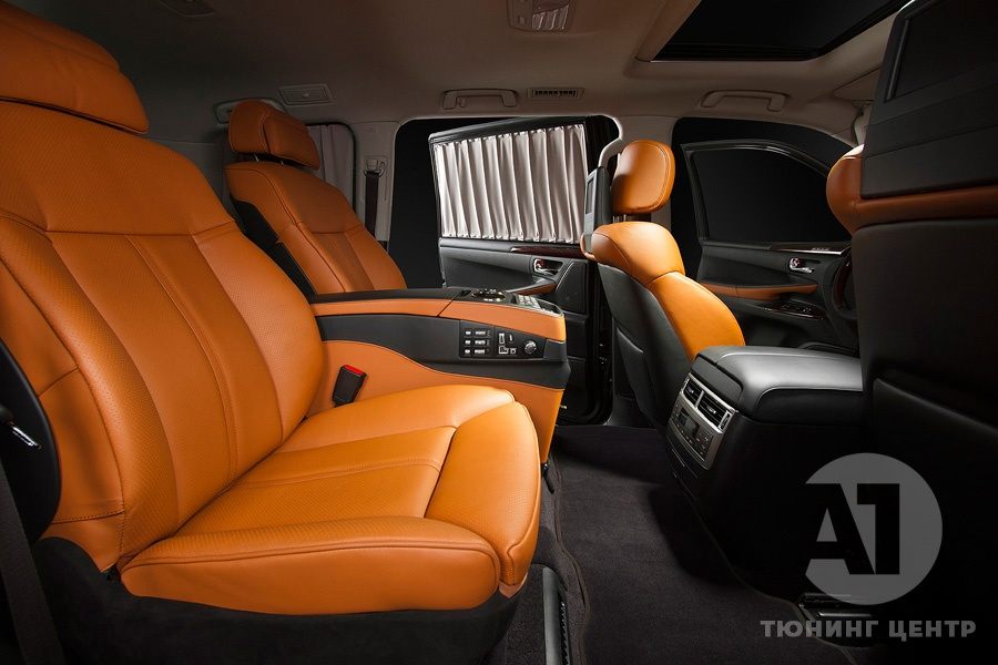 Cалон Lexus LX57. Фото 2, A1 Тюнинг Центр.