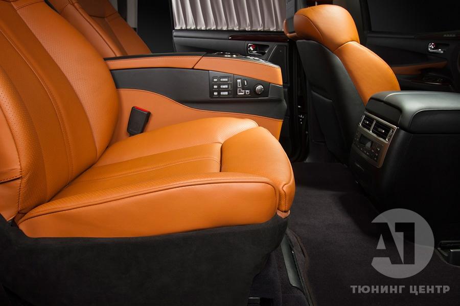 Cалон Lexus LX57. Фото 5 A1 Тюнинг Центр.