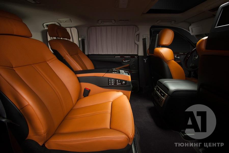 Cалон Lexus LX57. Фото 6, A1 Тюнинг Центр.