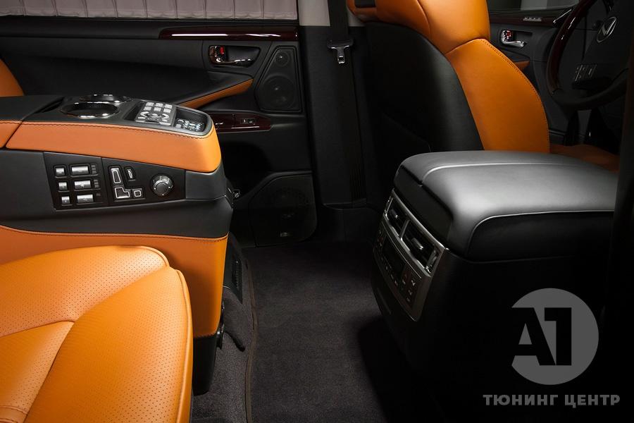 Cалон Lexus LX57. Фото 7, A1 Тюнинг Центр.