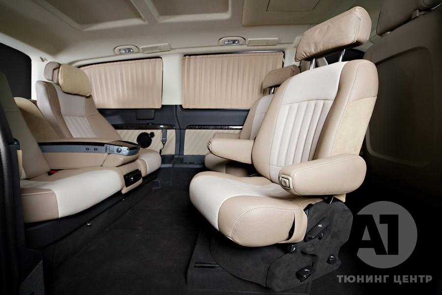 Тюнинг салона Mercedes Benz Viano Buisness. Фото 2, A1 Тюнинг Центр