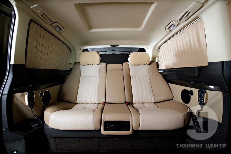 Тюнинг салона Mercedes Benz Viano Buisness. Фото 6, A1 Тюнинг Центр