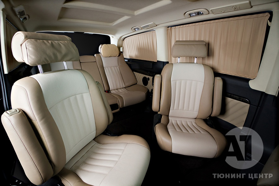 Тюнинг салона Mercedes Benz Viano Buisness. Фото 7, A1 Тюнинг Центр