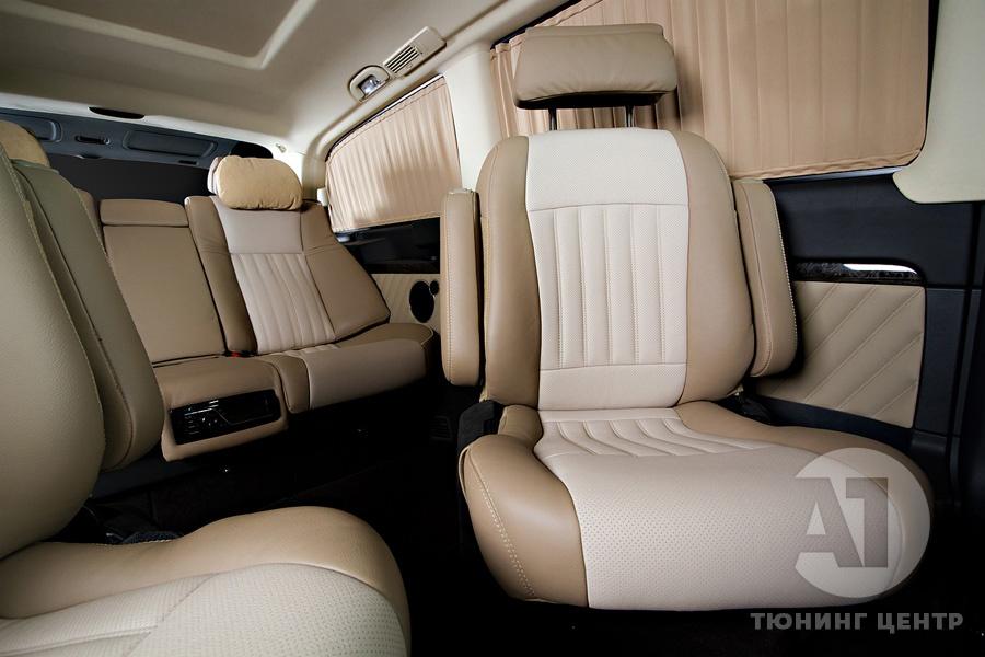 Тюнинг салона Mercedes Benz Viano Buisness. Фото 8, A1 Тюнинг Центр