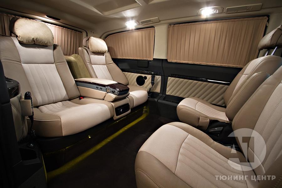 Cалон Mercedes Benz Viano Buisness. Фото 1, A1 Тюнинг Центр.
