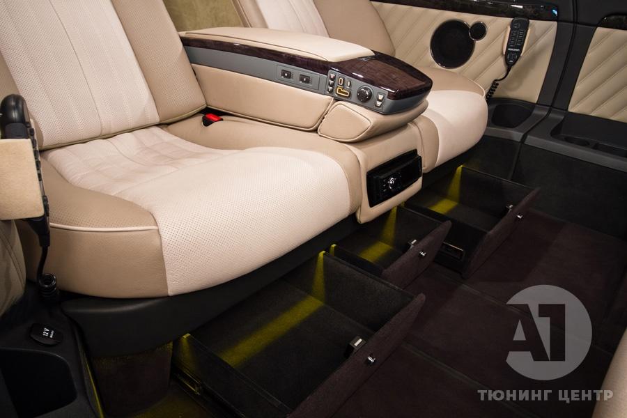 Cалон Mercedes Benz Viano Buisness. Фото 2, A1 Тюнинг Центр.