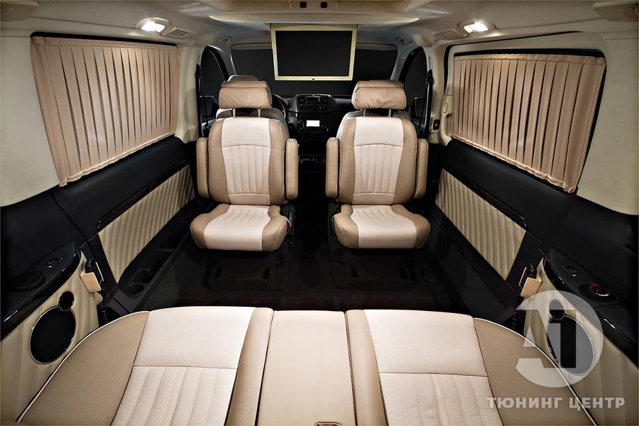 Cалон Mercedes Benz Viano Buisness. Фото 3, A1 Тюнинг Центр.