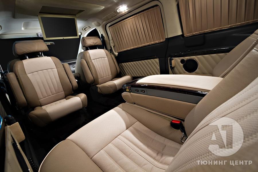 Тюнинг Mercedes Benz Viano Buisness. Фото 1, A1 Тюнинг Центр