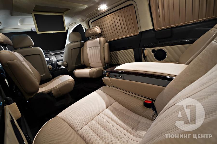 Cалон Mercedes Benz Viano Buisness. Фото 4, A1 Тюнинг Центр.