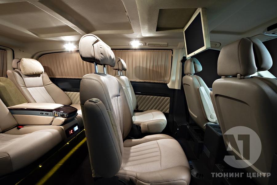 Cалон Mercedes Benz Viano Buisness. Фото 8, A1 Тюнинг Центр.