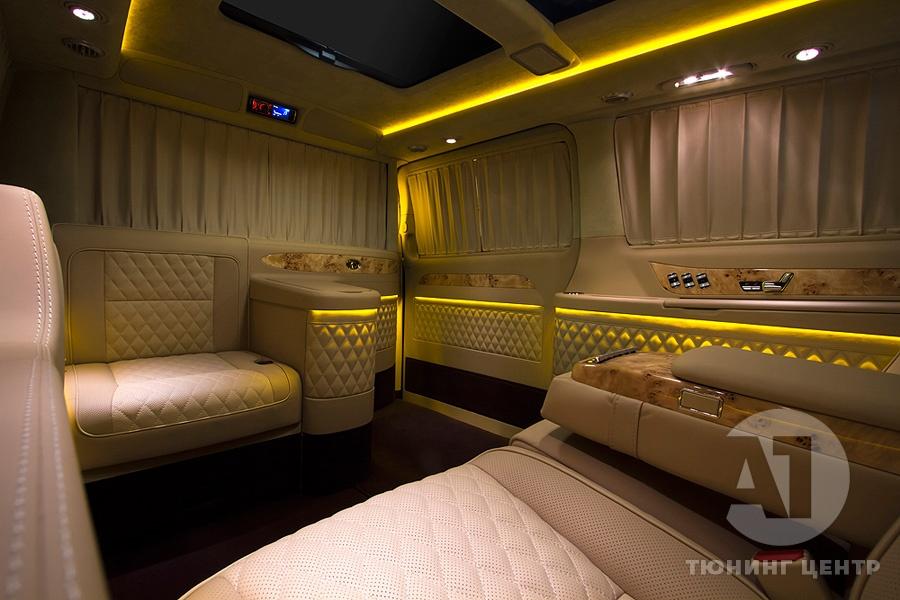 Тюнинг салона Mercedes Benz Viano VIP. Фото 3, A1 Auto