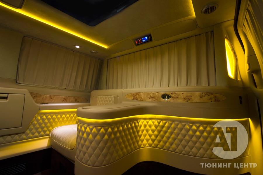 Тюнинг салона Mercedes Benz Viano VIP. Фото 6, А1 Авто