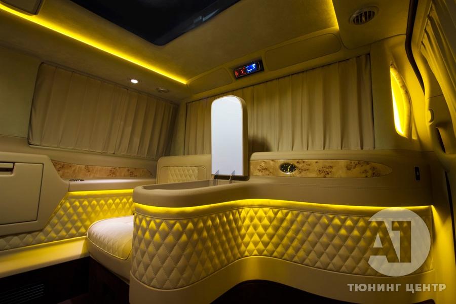 Тюнинг салона Mercedes Benz Viano VIP. Фото 7, А1 Авто