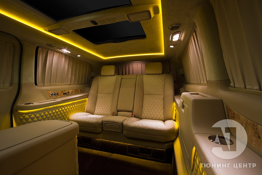 Тюнинг салона Mercedes Benz Viano VIP. Фото 8, А1 Авто