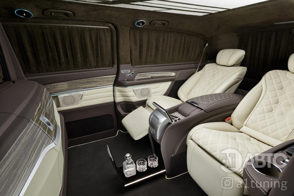 Комфортные кресла в V-class. Фото 6 .А1 Авто