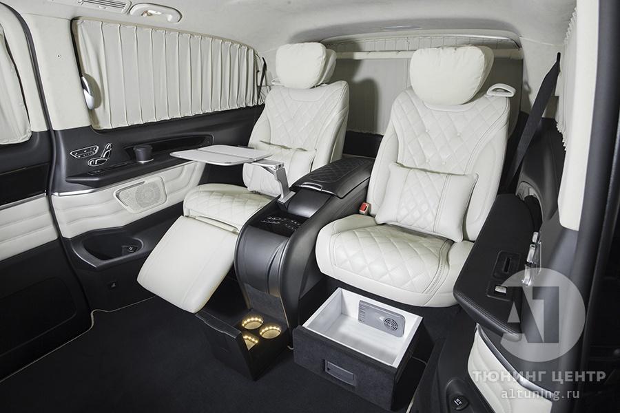 Комфортные кресла в V-class. Фото 13. А1 Авто