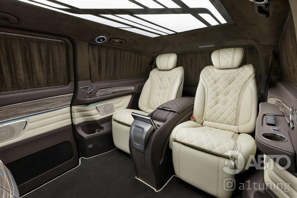 Комфортные кресла в V-class. Фото 14. А1 Авто