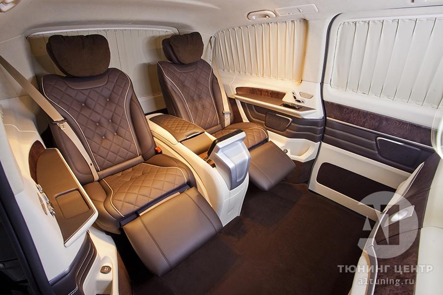 Комфортные кресла в V-class. Фото 15. А1 Авто