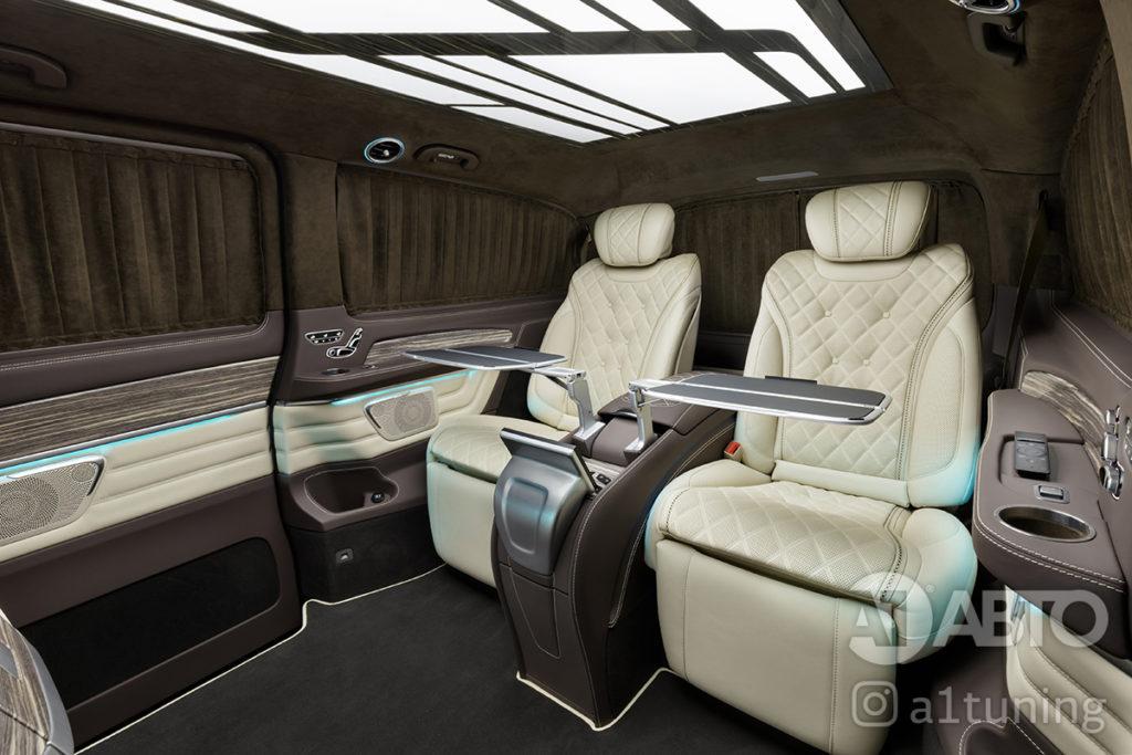 Комфортные кресла в V-class. А1 Авто