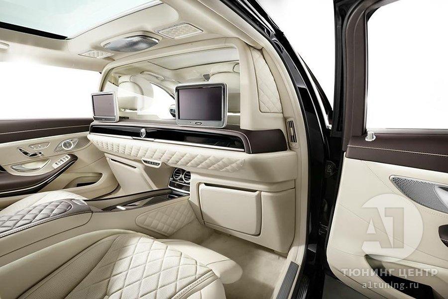 Перегородка Mercedes-Benz Maybach