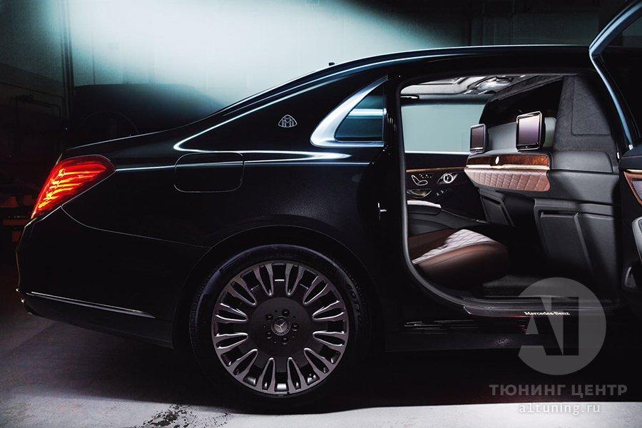 Тюнинг салона  Mercedes-Benz Maybach, А1 Авто