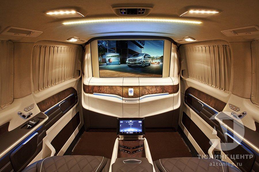 Тюнинг салона Mercedes Benz V-Class. Фото 15, А1 Авто