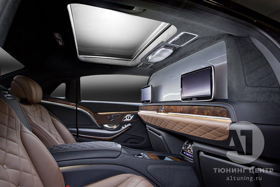 Тюнинг салона  Mercedes-Benz Maybach фото 1, А1 Авто