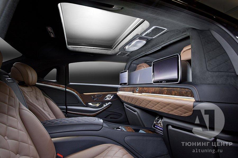 Тюнинг салона  Mercedes-Benz Maybach фото, А1 Авто